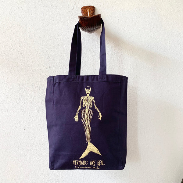 Mermaids are Real Tote Bag