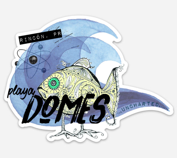 Playa Domes Sticker