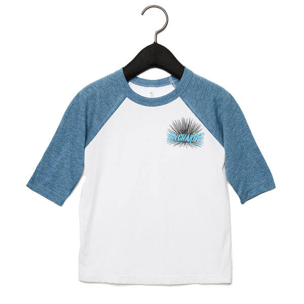 Kids Sea Urchin Raglan Tee
