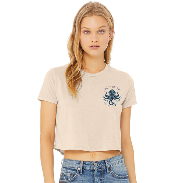 Uncharted Octopus Cropped Tee