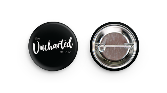 Pin Back Button - The Uncharted Studio