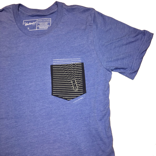 Uncharted Waters Pocket Tee
