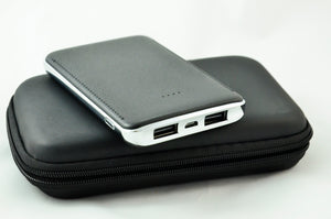 POWER BANK ELEGANT NEGRA. CAPACIDAD DE 6000 mAh--TKTEC026