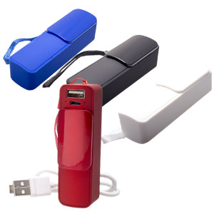 POWER BANK SPORT. CAPACIDAD DE 2,600 mAh---TKTEC029