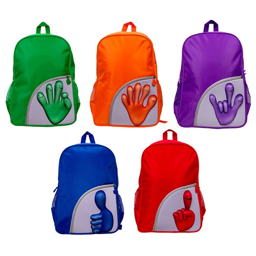 Mochila Smile Hands---AM64445