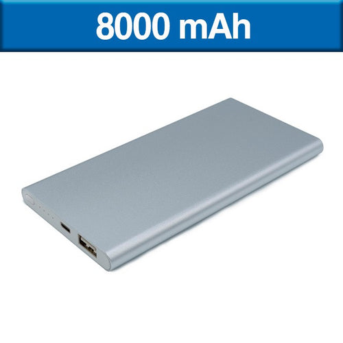POWER BANK SLIM DE 8,000 mAh---TKTEC103