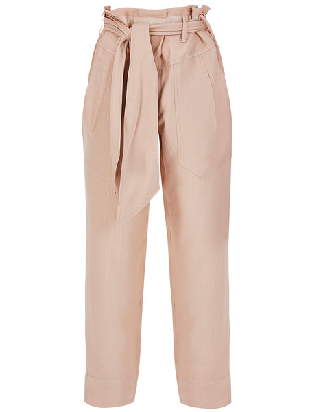 TIE DETAILED COMFY TROUSERS