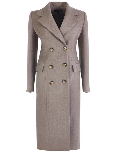 % 100 WOOL LONG COAT