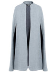 %100 WOOL LONG CLOAK