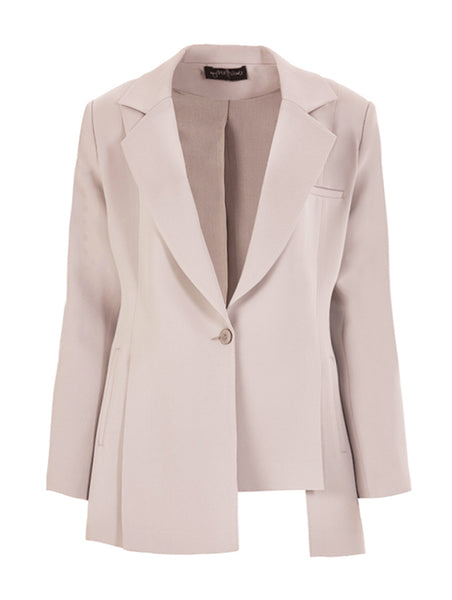 SLIT DETAIL BLAZER JACKET