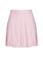MINI PLATED SKIRT