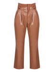 PARKER LEATHERETTE TROUSERS