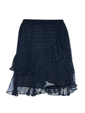 MINI FRILLED SKIRT