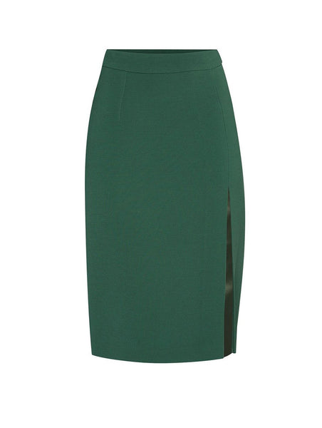 PENCIL SKIRT WITH SLIT