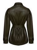 LEATHERETTE WESTERN JACKET