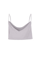 COWL NECK CROP TOP