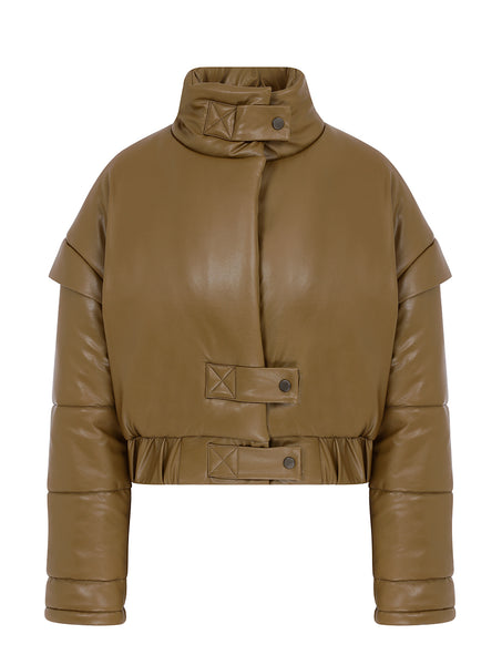 BOMBER CUT DOWN JACKET