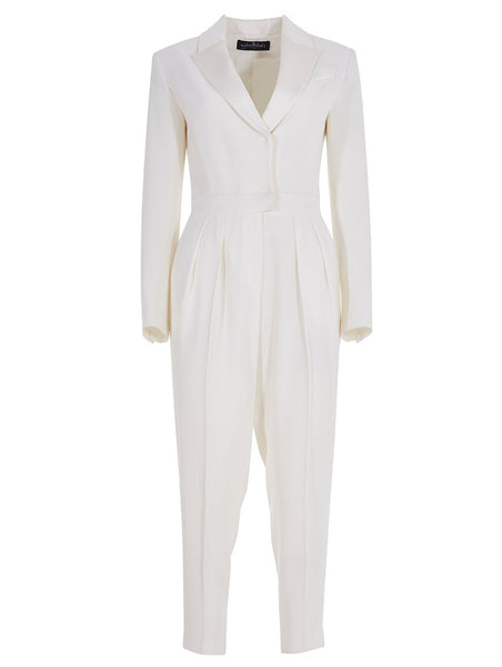 SMOKIN COLLAR JUMPSUIT