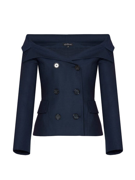 PRINCESS COLLAR WOOL JACKET / Special Edition