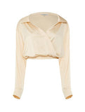 DAISY SATIN BLOUSE