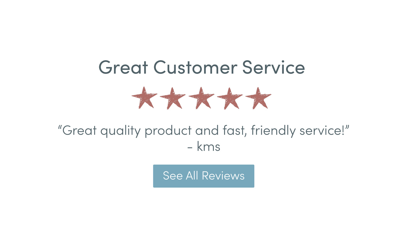 Customer service five star review