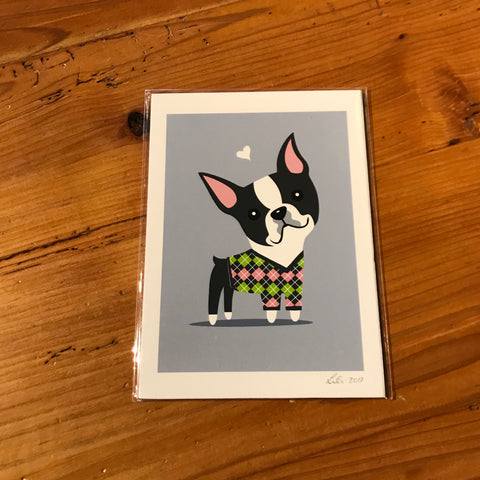 Doggie Drawings Prints
