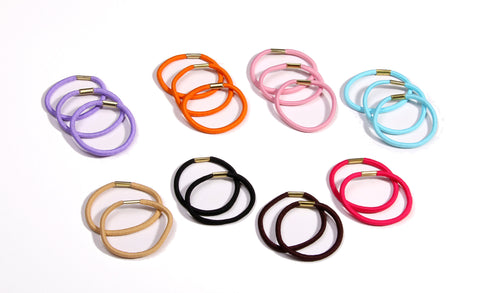 Ponytail Elastic - Multicolored (20 pack)