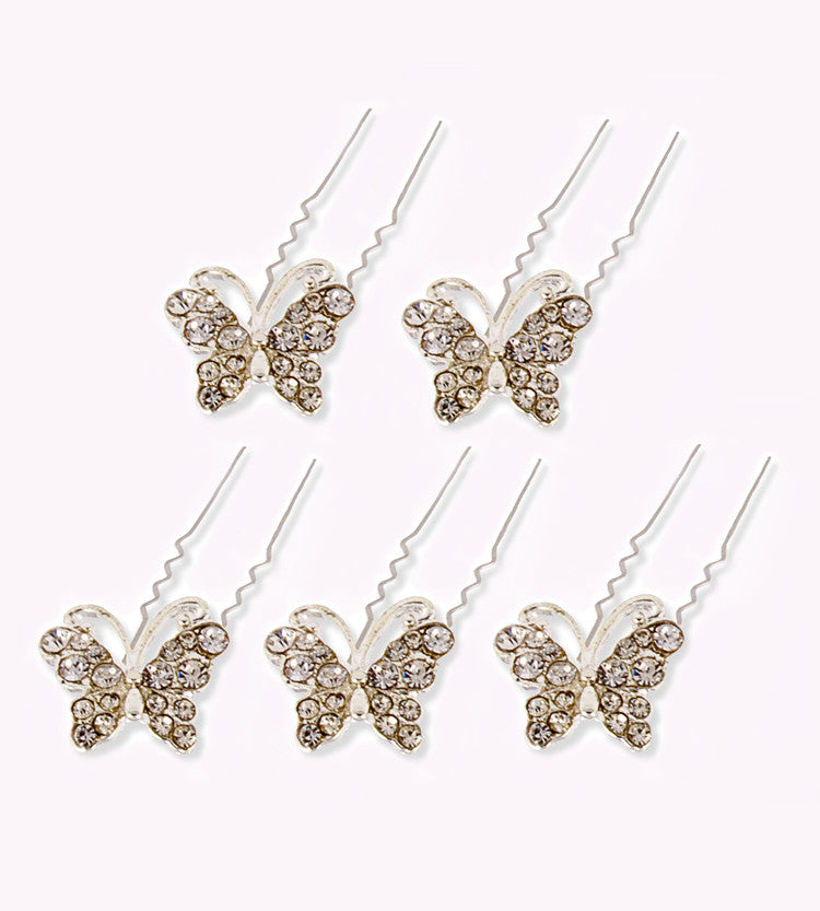 If you're a Ballerina or a Dancer, you'll be free to let your Updo Hairstyle Fly with this Rhinestone Twirl for Easy Up Hairdos
