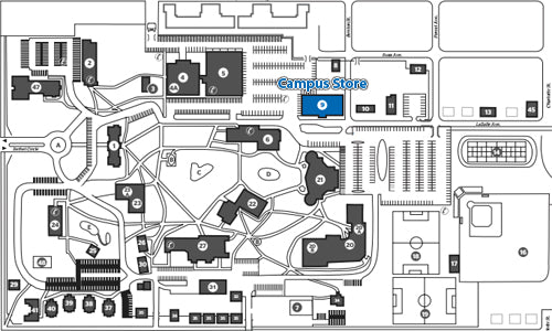 Under Armour Campus Map.Location Bethel Campus Store