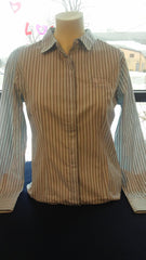 Women's Cutter & Buck Multi Stripe Dress Shirt
