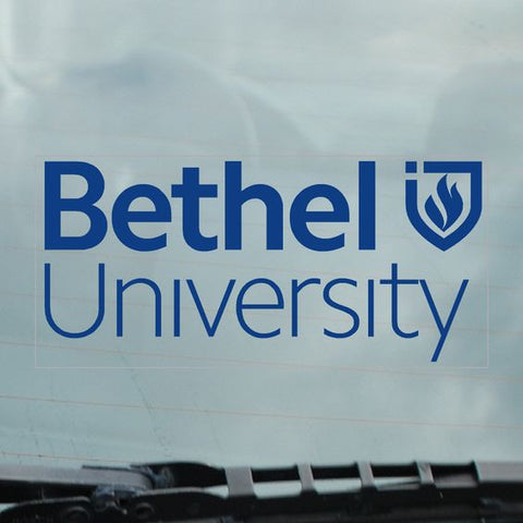 Bethel University Stacked Logo Decal