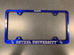 Bethel University License Plate Frame