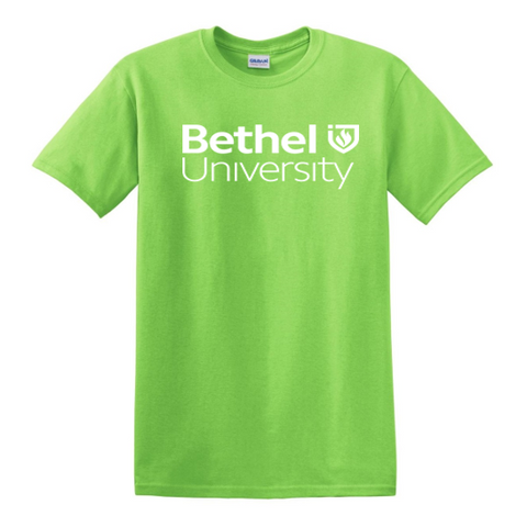 Lime Green Bethel University Tee