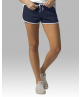 Ladies Navy and White Relay Shorts