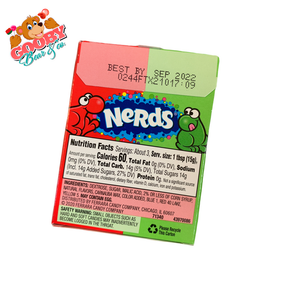 Nerds watermelon & Cherry