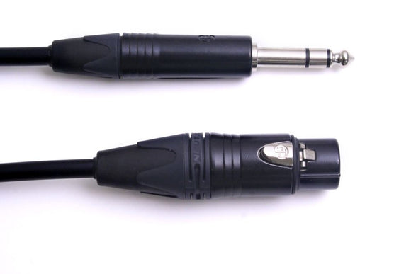 CXFS Studio Series XLR F to 1/4 TRS