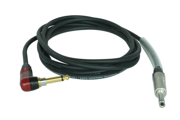 NGP-SILENT Tour Series Instrument Cables - Right Angle