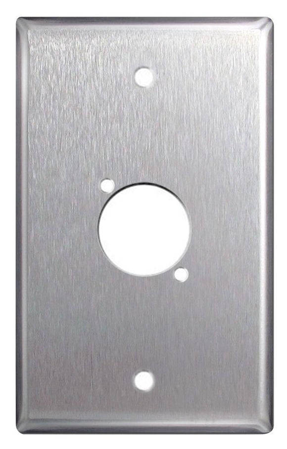 DGP Stainless Steel Single Gang Wall Plates