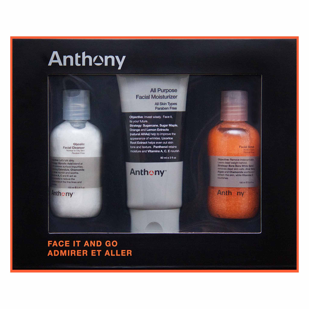 Anthony - Face It & Go Kit