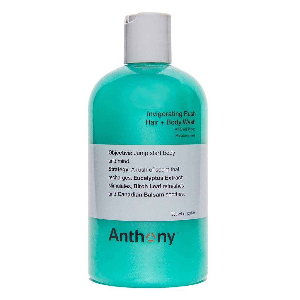 Anthony - Invigorating Rush Hair + Body Wash