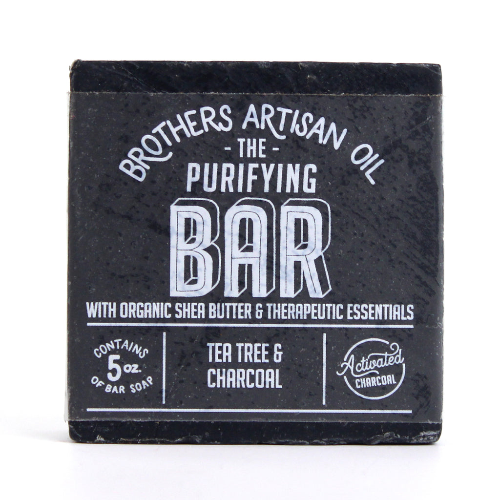 Brothers Artisan Oil - The Bar Soap: Tea Tree & Charcoal