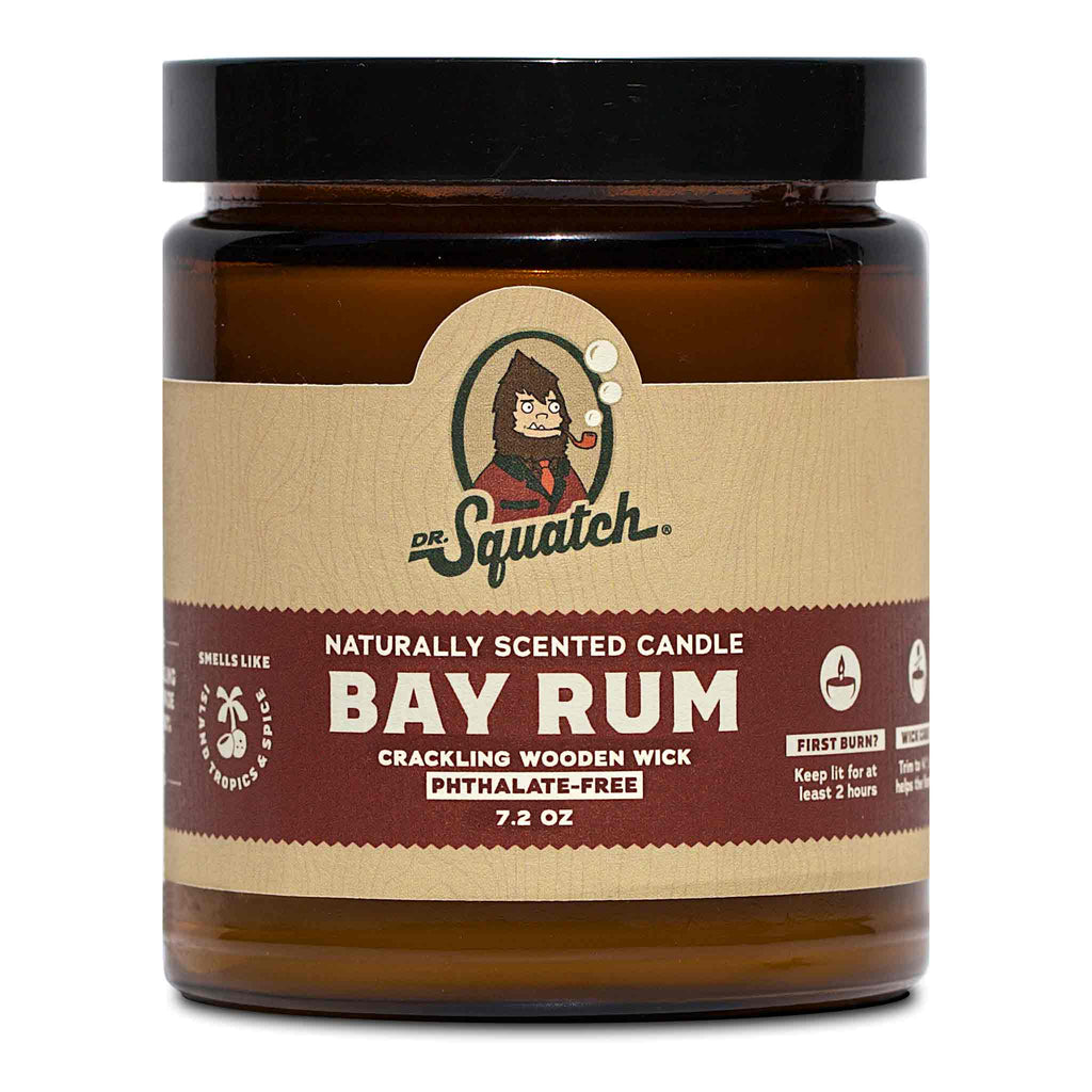 Dr. Squatch Bay Rum Candle