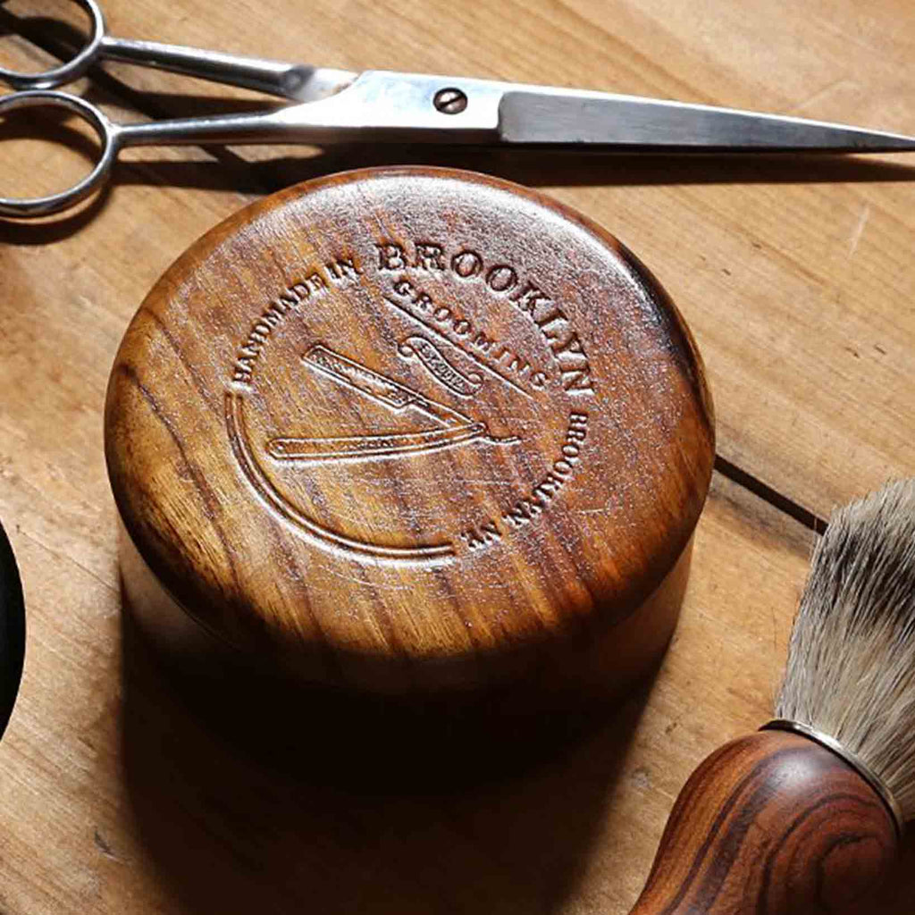 Brooklyn Grooming - Shaving Bowl & Soap Gift Set
