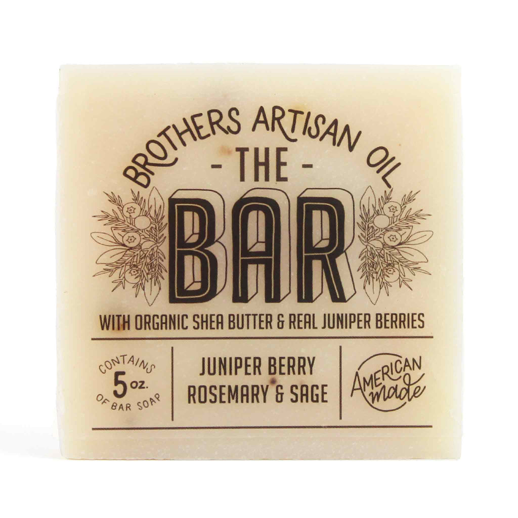 Brothers Artisan Oil - The Bar Soap: Juniper Berry, Rosemary & Sage