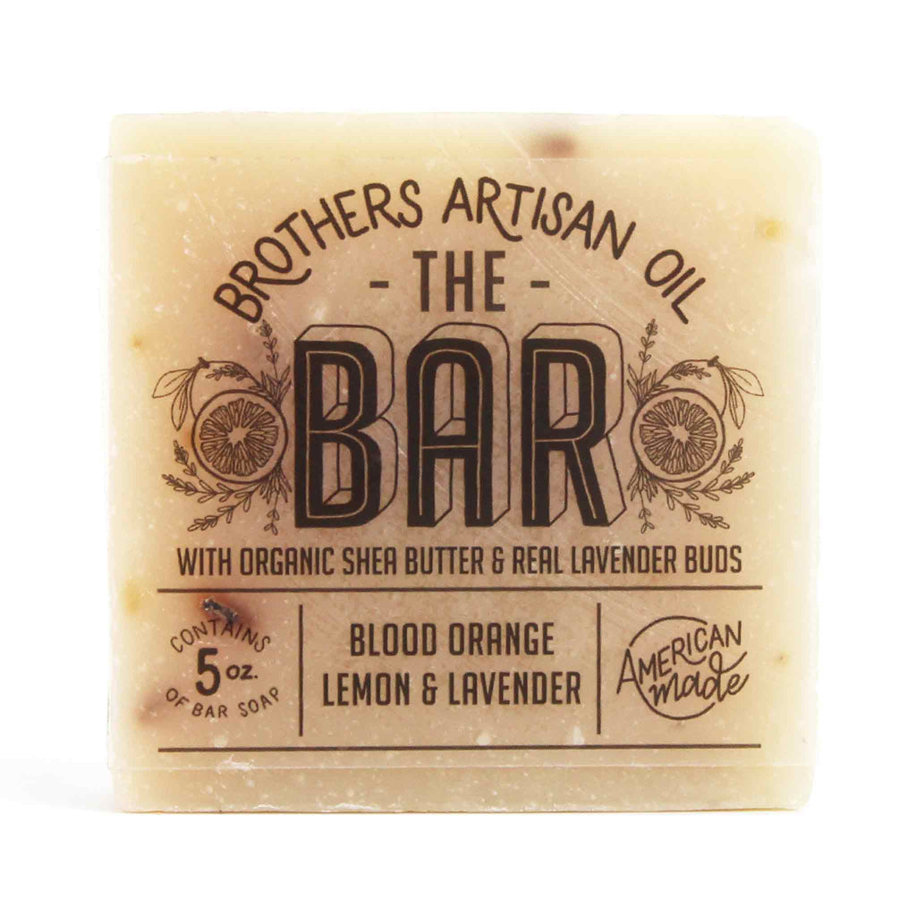 Brothers Artisan Oil - The Bar Soap: Blood Orange, Lemon & Lavendar
