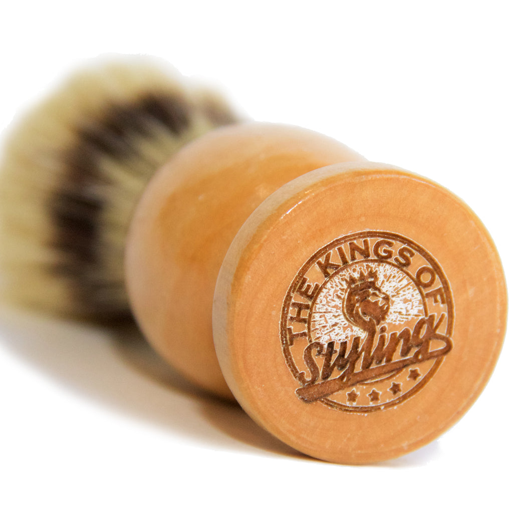 The Kings of Styling - Light Brown Shaving Brush