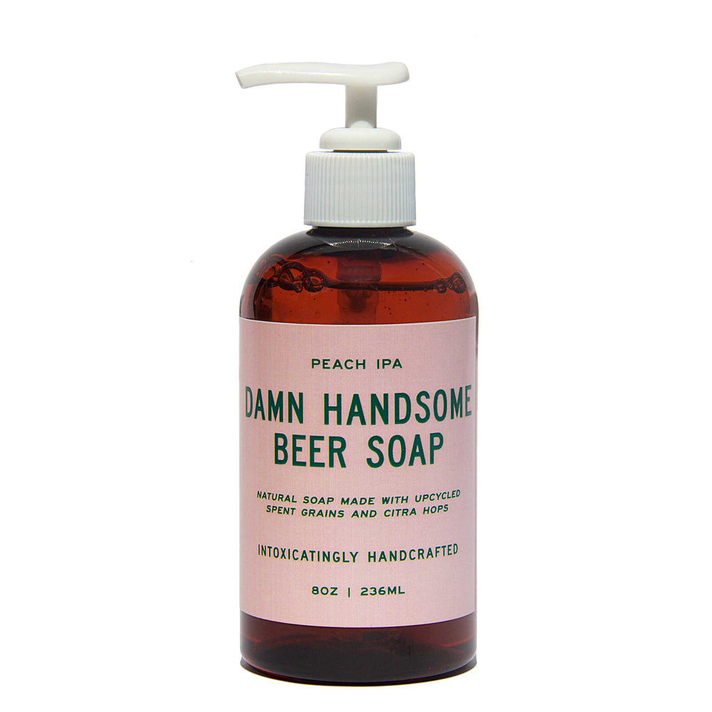 Damn Handsome Grooming Co. - Peach IPA Beer Hand Soap