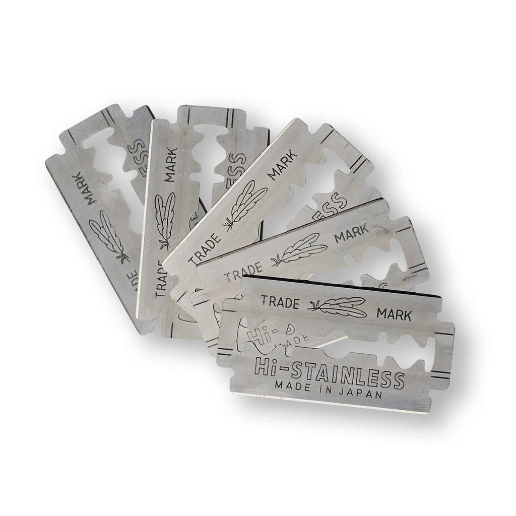 Olivina Men - Feather Double Edge Razor Blades