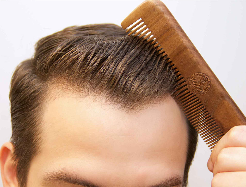 The Kings of Styling - Green Sandalwood Comb