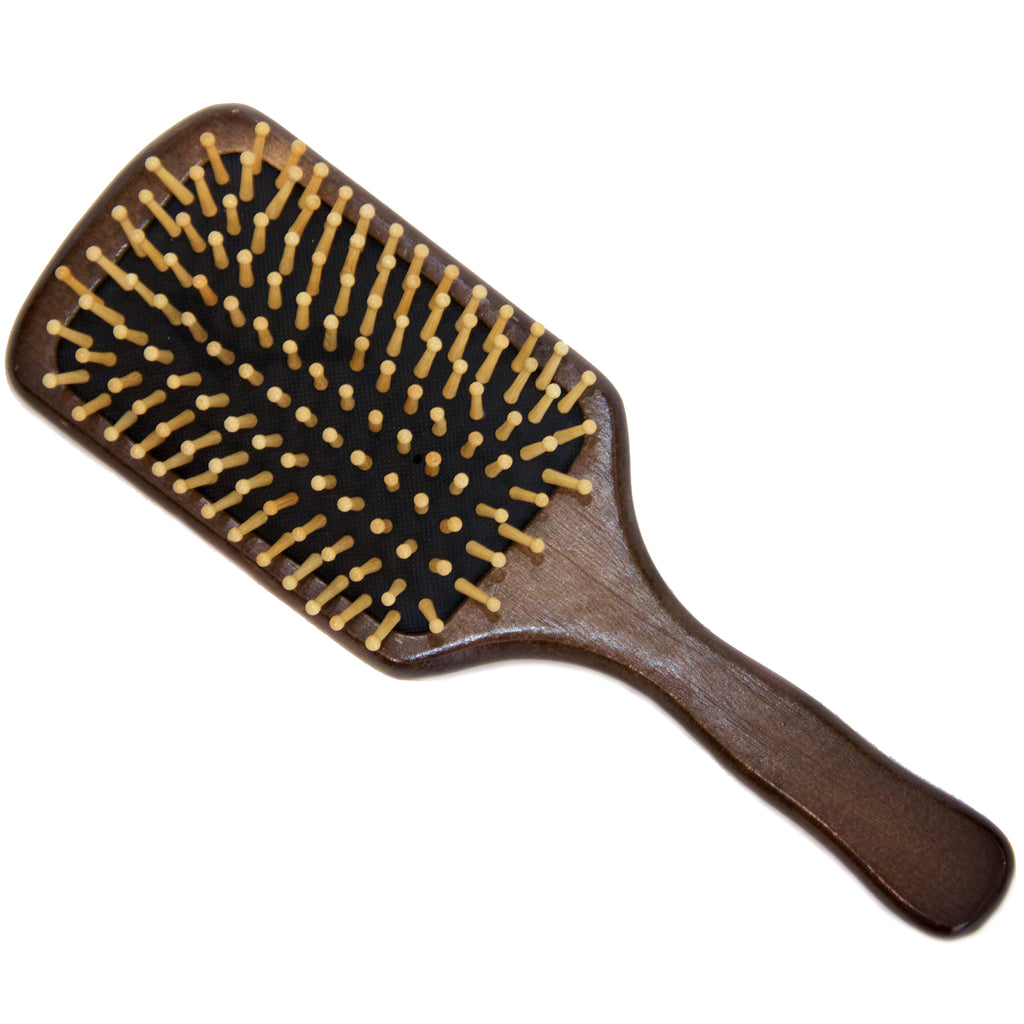The Dark Birch Wood Hair Brush
